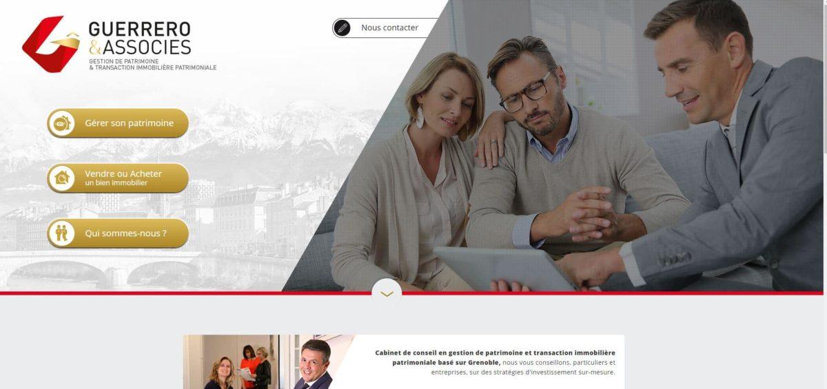 – Grenoble (38) – Création site internet