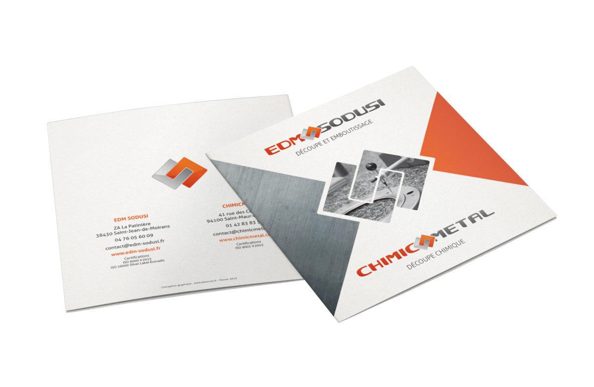 Saint-Jean-de-Moirans (38) – Design graphique / Plaquette produits