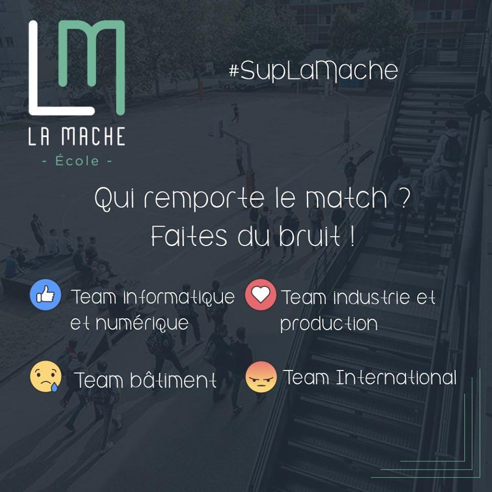 Sup' La Mache | Développement d'une stratégie de réseaux sociaux