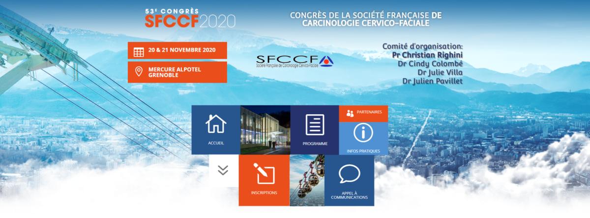 CHU de GRENOBLE – 53ème Congrès de Carcinologie Cervico-Faciale (SFCCF)