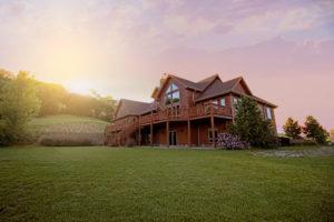 Photo d'une villa de campagne